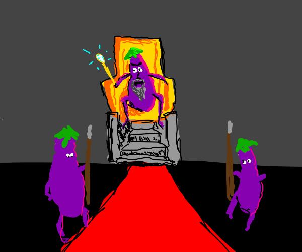 The eggplant emperor!