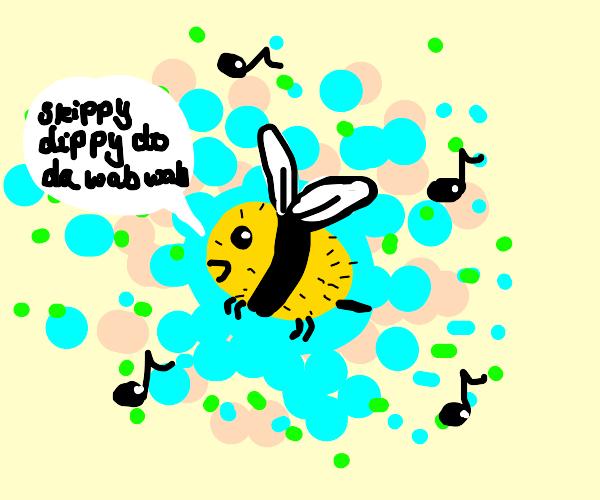 bee scatman singing