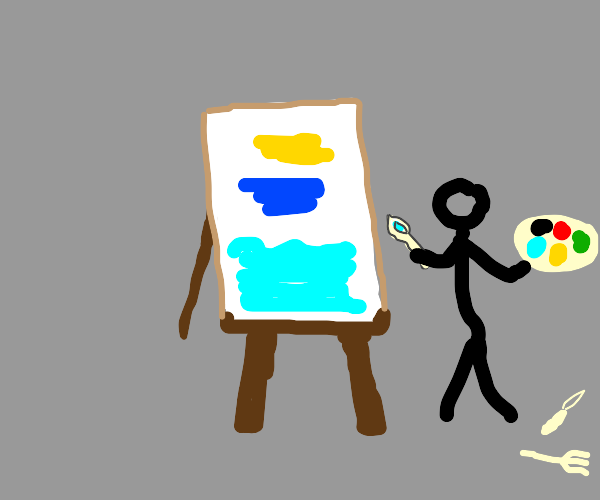 Painting with a Spoon