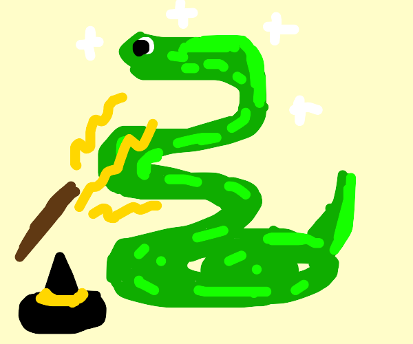 Enchanted Python