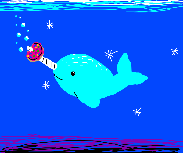 Narwhal finds a donut