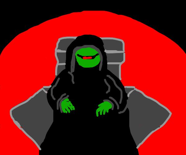 Sith Lord emperor kermit