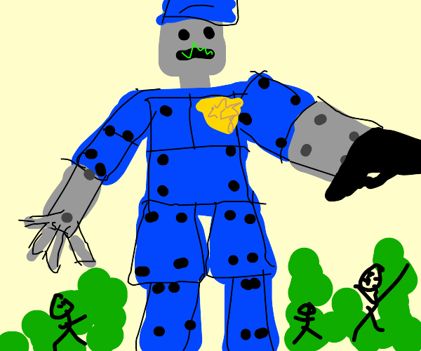 Huge Robocop