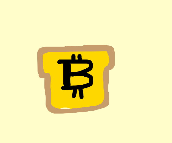 bitcoin = cube bread