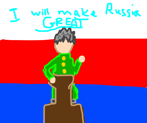 Kokichi for Russian president 2020