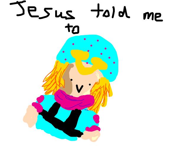 jesus told me to kill funny valentine