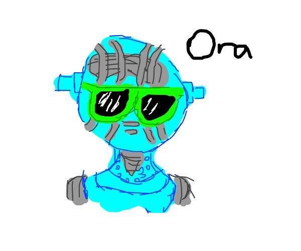 """Stone Free says """"Ora."""""""