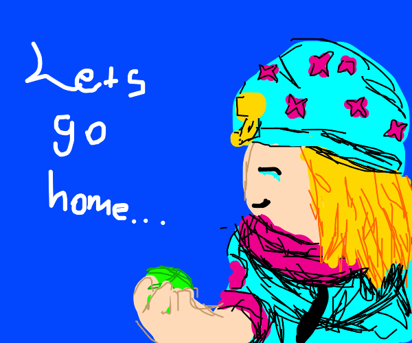 Johnny Joestar is ready to go home