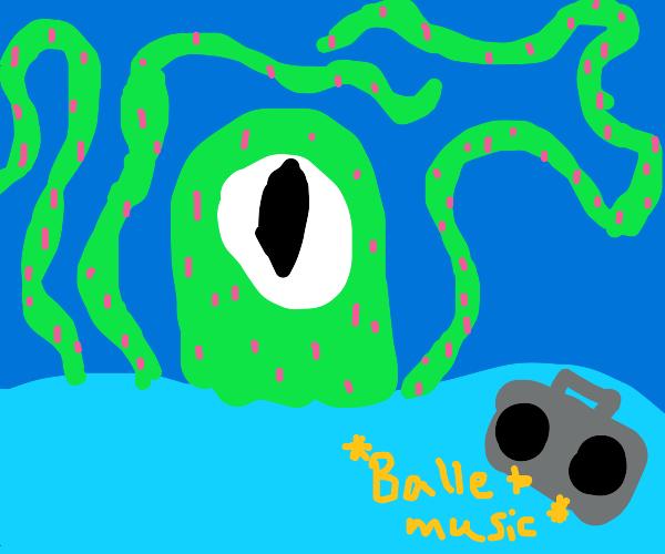 majestic kraken