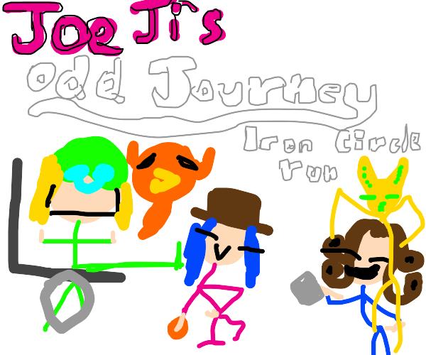 Knock-off JoJo's Bizarre Adventure