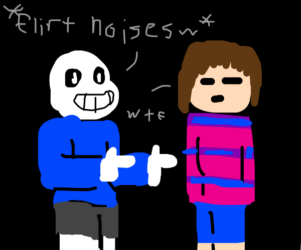 Chara and Asriel! (Undertale) - Drawception