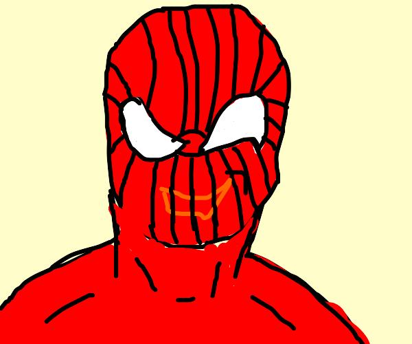 Spiderman is Happy :)
