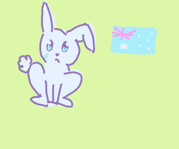 Australian bunny is often upset