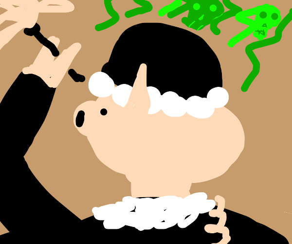 Stinky maid pig