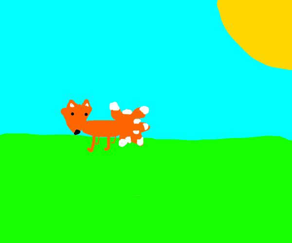 nine tailed fox