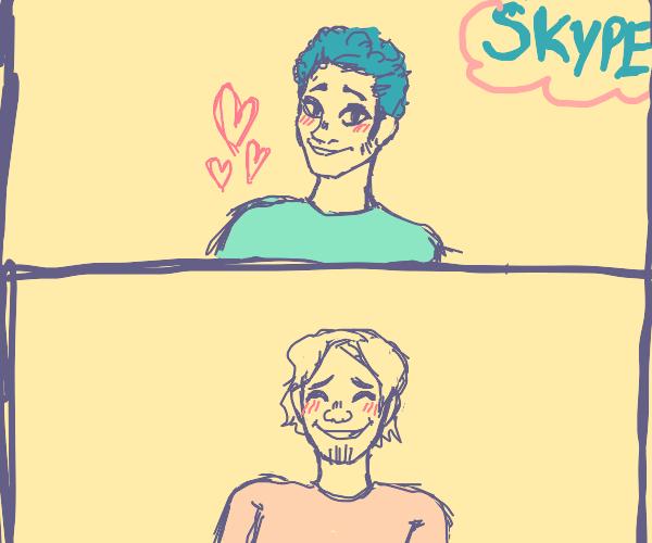 Socially distant Skype Date (MLM)