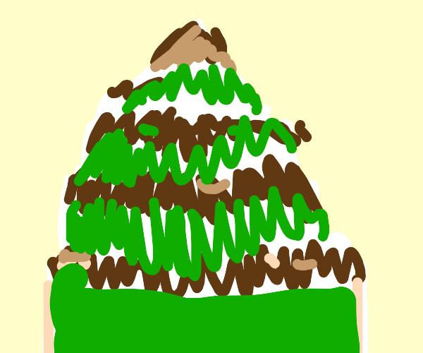 A Mountain of Cake