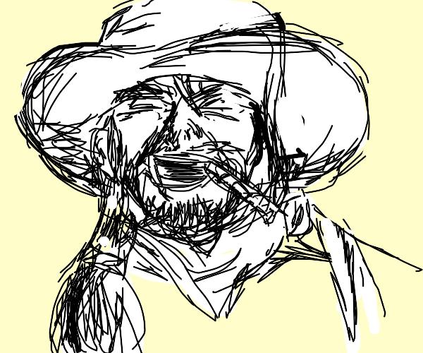 Cowboy Laughing