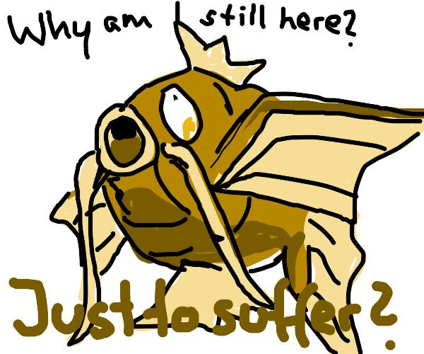 Magikarp has an existential crisis