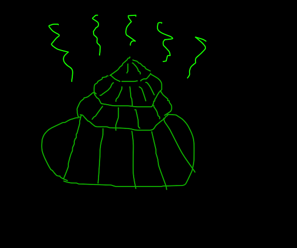 Green Geometrical Poop