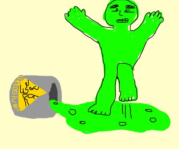 green man on acid