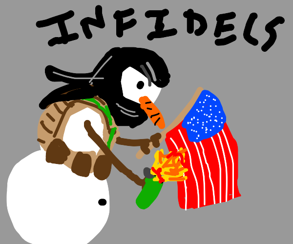 snowman wants USA to begone