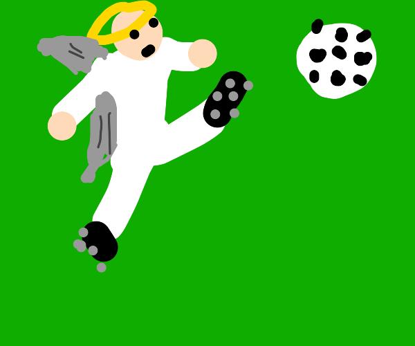 Angels Soccer Game