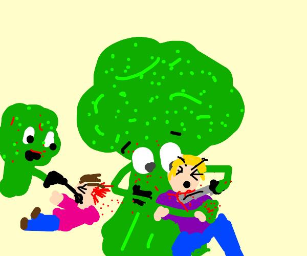 Broccoli killing kids