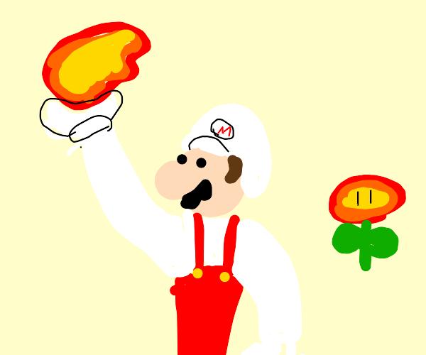 Fire Powered Mario