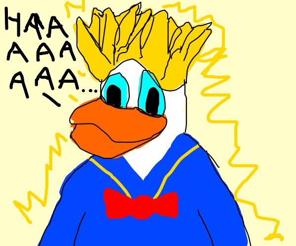 Super Saiyajin Donald