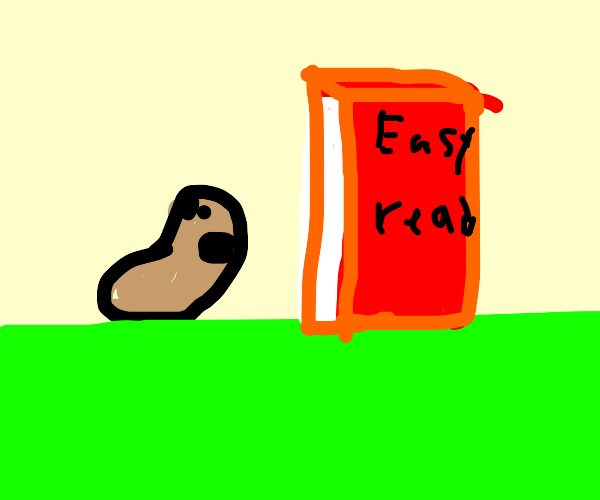 wormy cant read