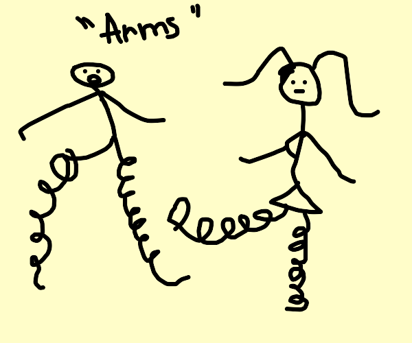 The arms game but with legs