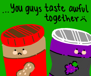 PB and J have a tragic breakup