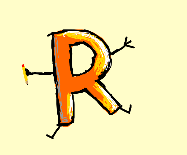"drawception d's lesser known neighbor, ""r"""