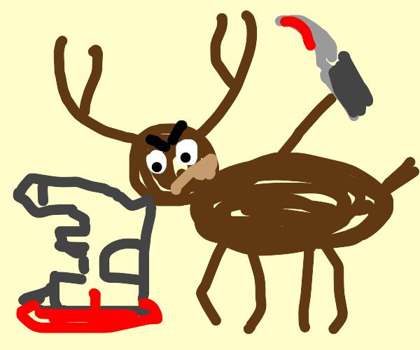 deer kills castle