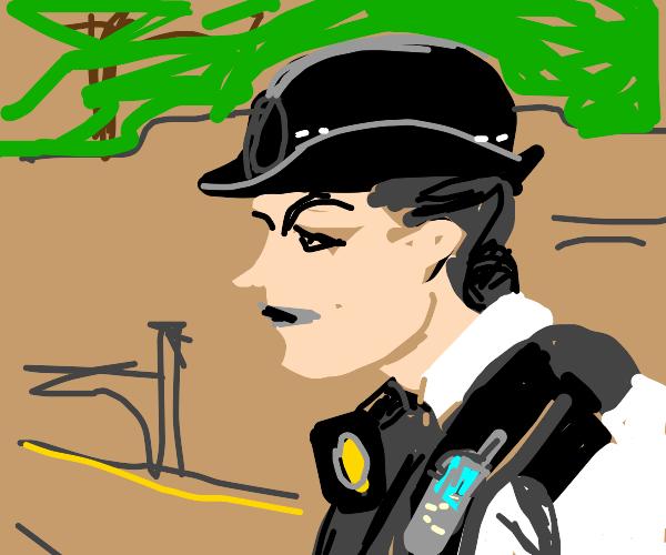 british police girl