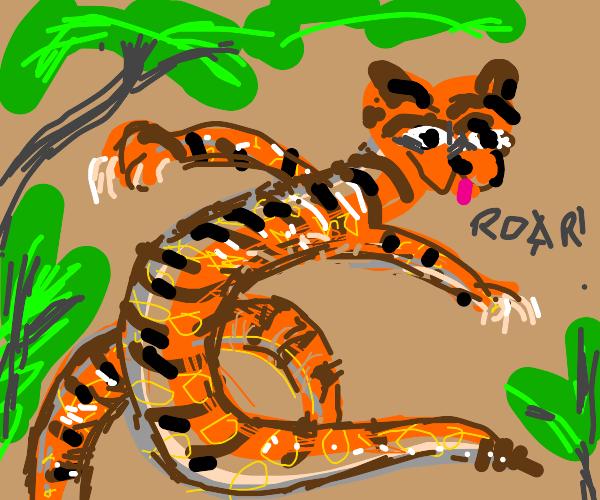 Snake-tiger Hybrid