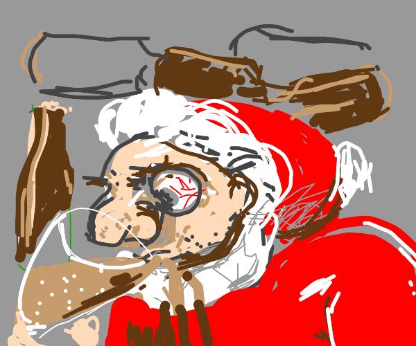 Santa Claus cancels Christmas 2020