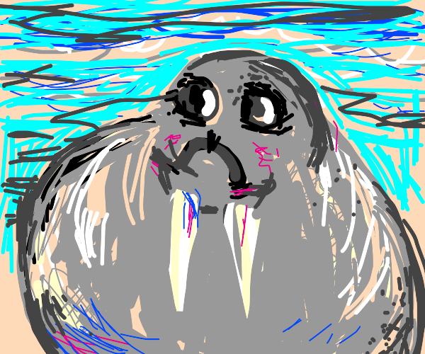 the cutest walrus ever