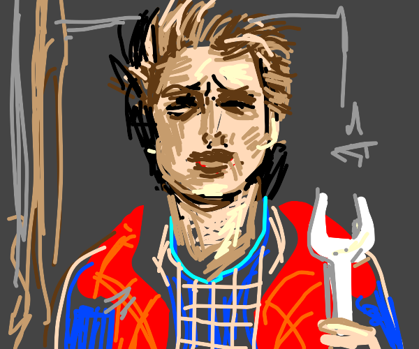 Marty McFly finds a questionable wrench
