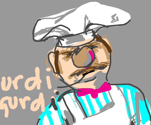 Chef from muppets