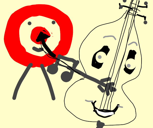 Your music class test scores a bullseye