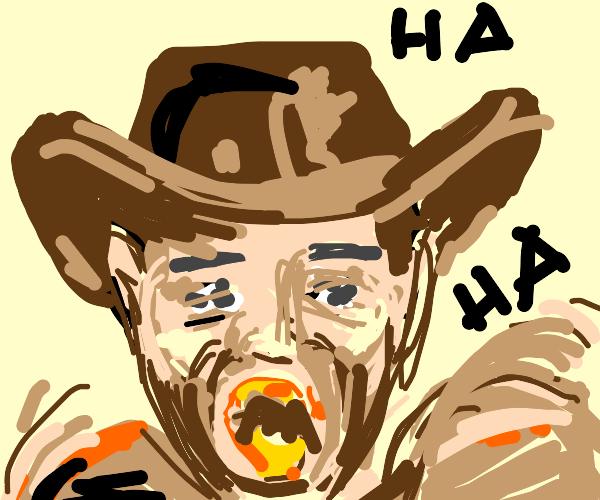 Indiana Jones Laughing
