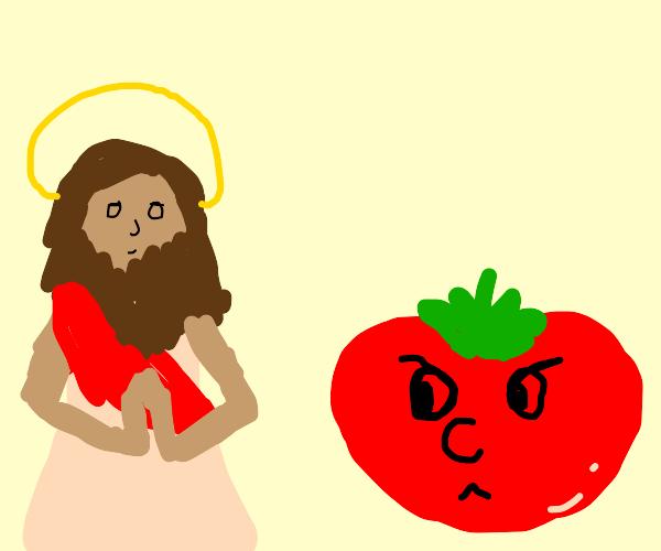 Bob Tomato hates Jesus
