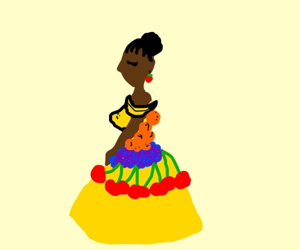 Fruit themed fashion