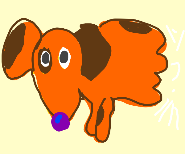 catdog but its cat part is invisible man