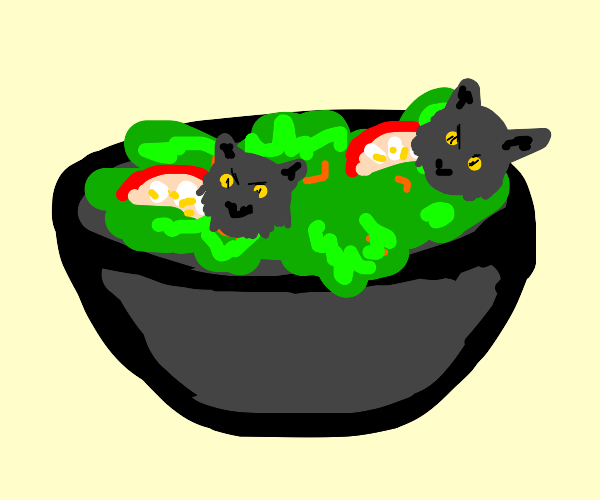 Wolf salad