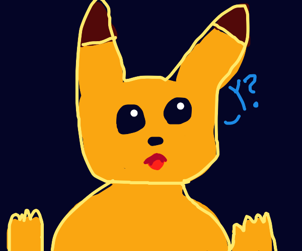 pikachu asking why