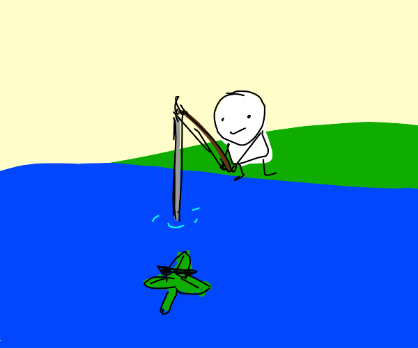 Fishing for a Weed