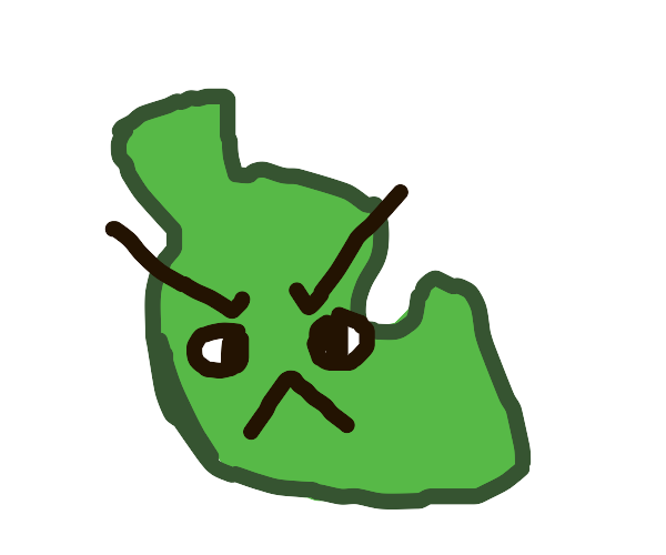 angry leaf